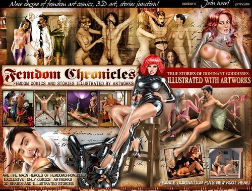 Femdom Chronicles and CutePet