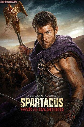 """Gwendoline Taylor, Anna Hutchison, Ellen Hollman, Lucy Lawless sex scenes in """"Spartacus"""""""
