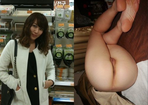 Beautiful japan girl make love with BF