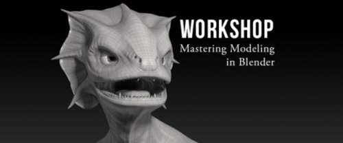 CG Cookie - Mastering Modeling in Blender Workshop