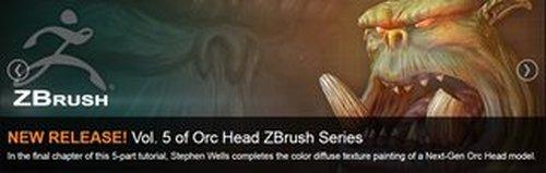 3DMotive - Orc Head Zbrush Series Vol.5