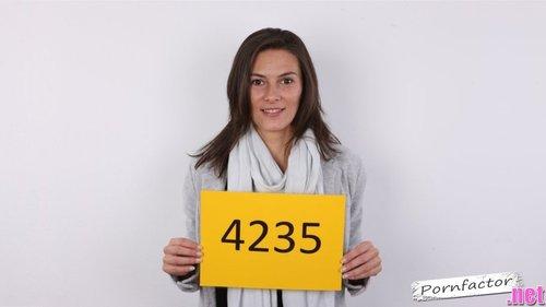 HD Czech Casting Alena 4235