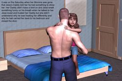 3d little jessi and her daddy download foto gambar