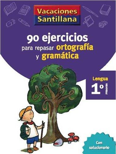 Pack Vacaciones Santillana: 1º Primaria PDF Español