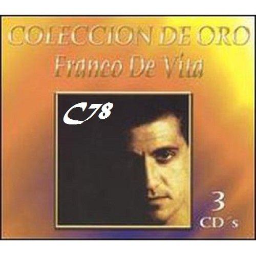 Franco de Vita – Colección de Oro 2004 3 Cd´s Mp3